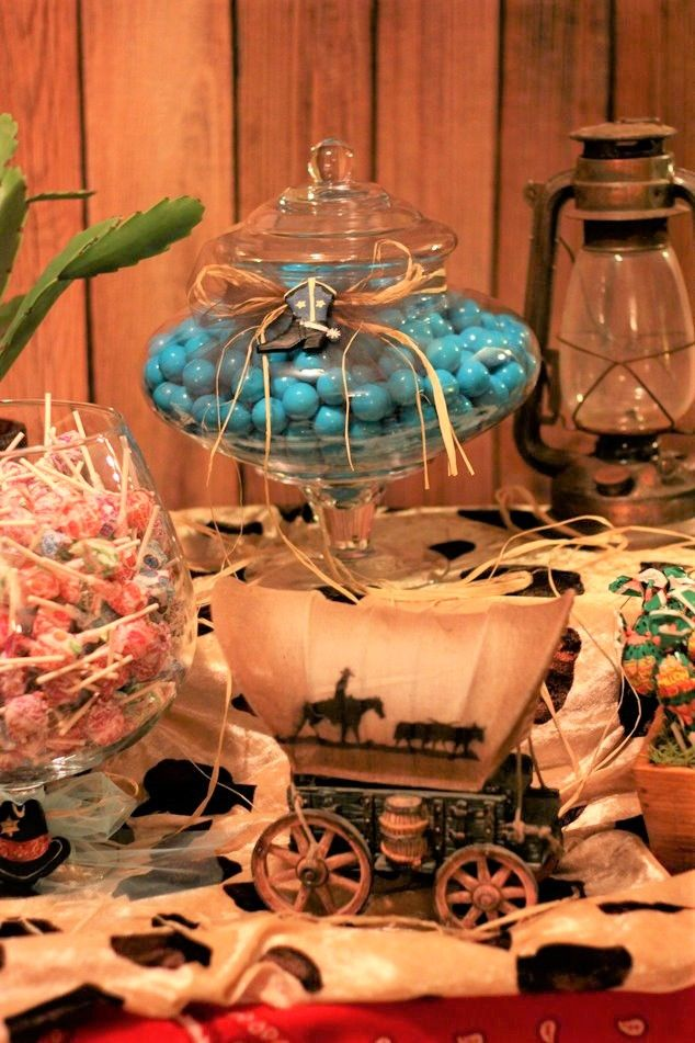 Western theme dessert table