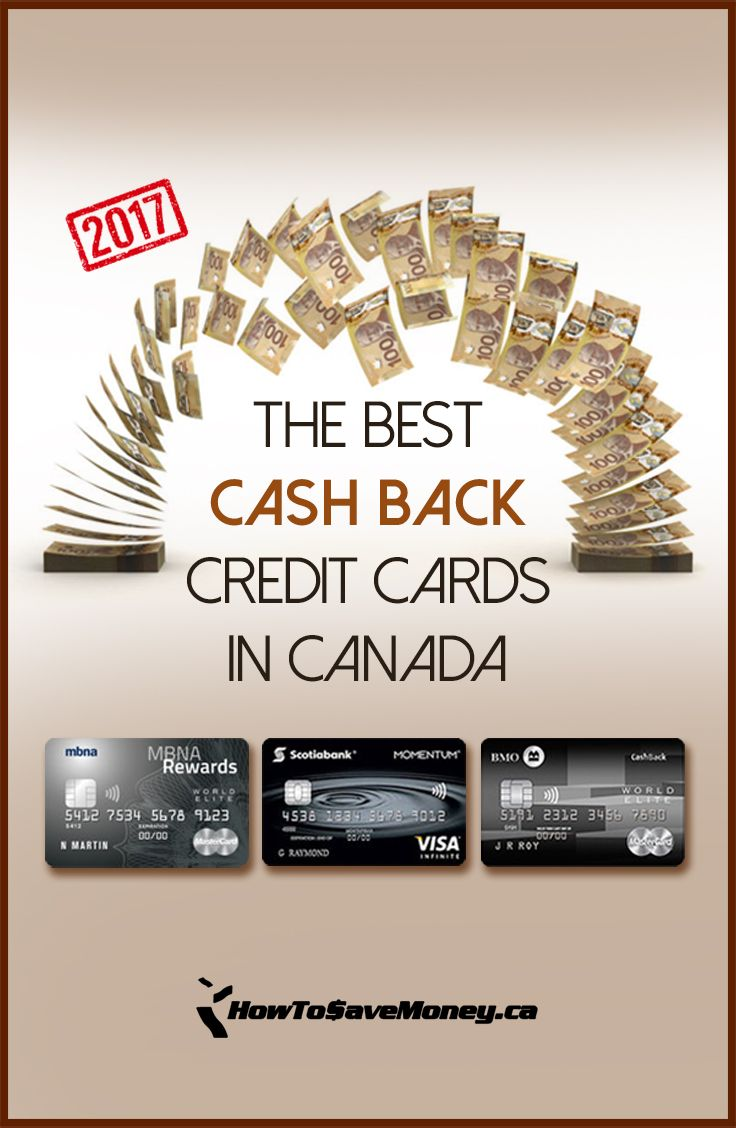 Low credit score credit cards canada