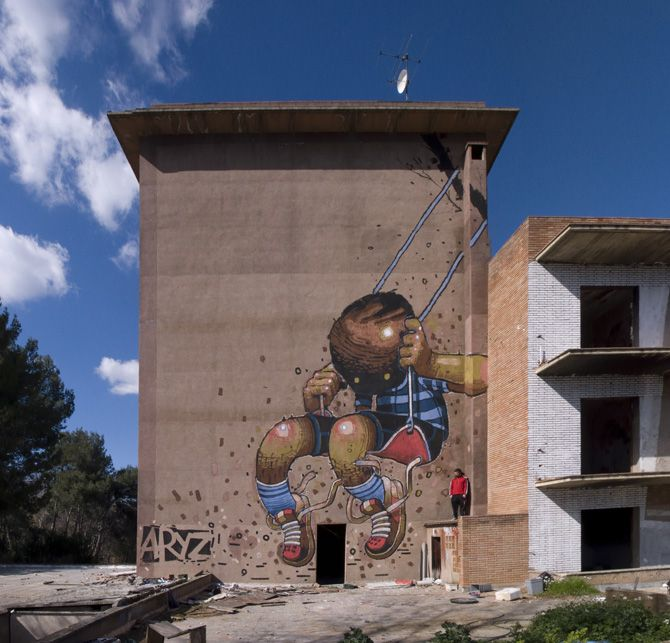 Street Art from ARYZ