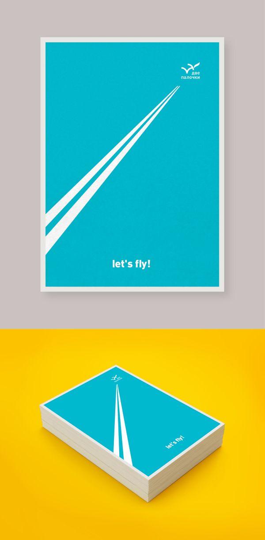 Postcards // Two sticks restaurant by /ra Sm, via Behance ...