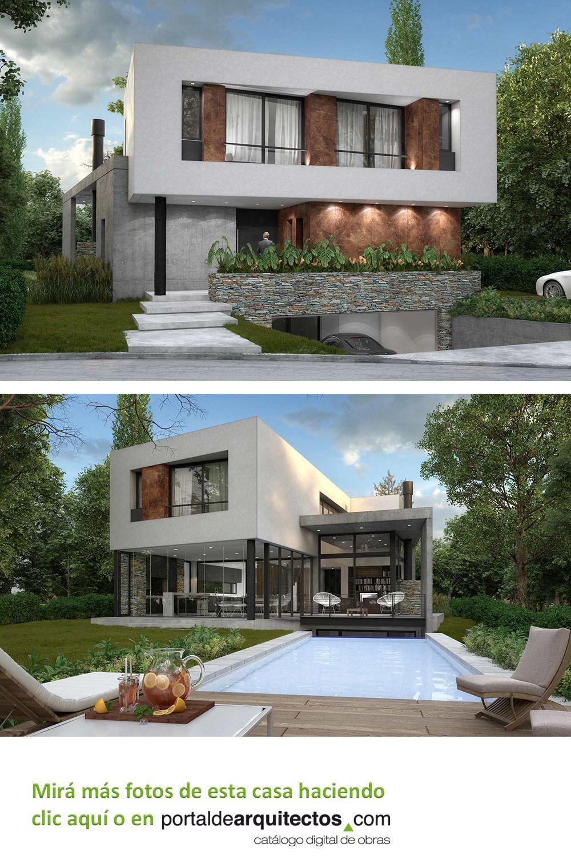 Estudio Gamboa Casa Rme Casas De Arquitectos Arquitectura Diseno Exterior De Casa