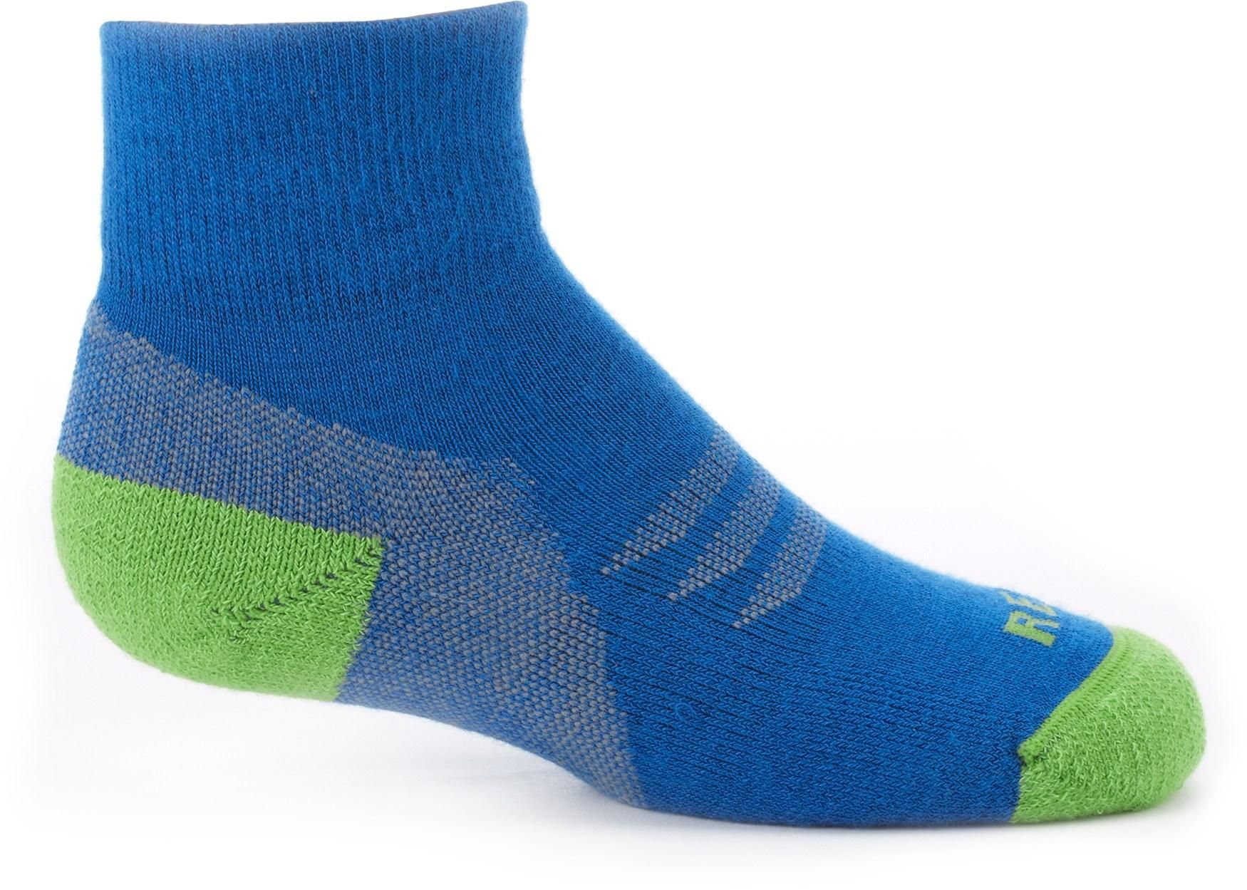 Boys' REI CoolMax EcoMade Quarter Socks