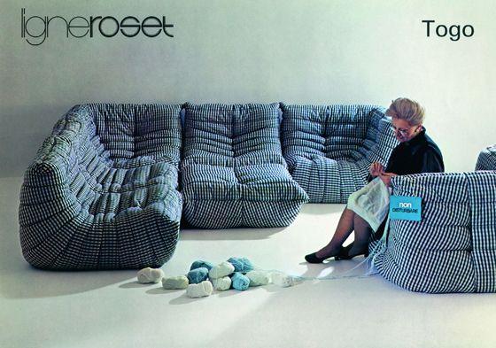 Ligne Roset/Togo | TOGO sofa - Canapé Ligne Roset | Pinterest ...
