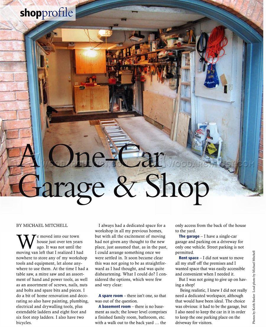 A One Car Garage Workshop Workshop Solutions Garage Workshop