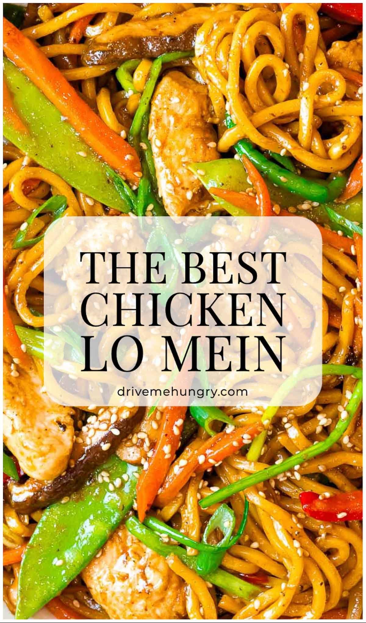 The Best Chicken Lo Mein Recipe In 2020 Chicken Lo Mein Lo Mein Recipes Chicken Lo Mein Recipe