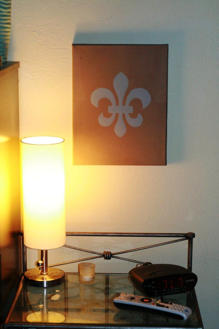 Top 10 Creative DIY Stencil Projects | Canvas art projects, Diy ...