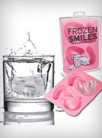 Dentures Ice Cubes Funny Also Great For Halloween 家庭用 入れ歯 脱毛サロン