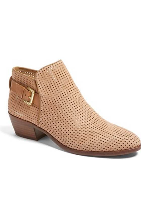 19809ef1cbd1 Free shipping and returns on BP. Faren Bootie (Women) at Nordstrom.com.  Perforated squares and a stacked block heel further the understated Western  ...