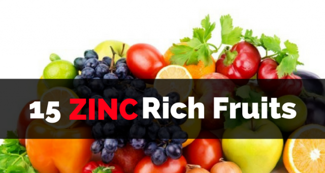 Top 15 Zinc Rich Fruits that you should eat for better