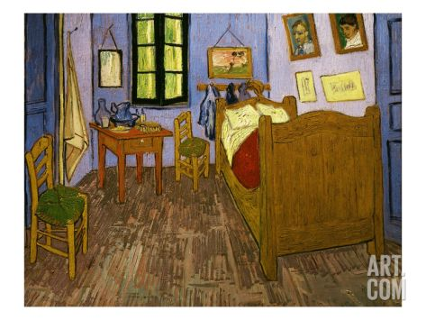 La Chambre De Van Gogh À Arles, Van Gogh\u0027s Bedroom in Arles, 1888