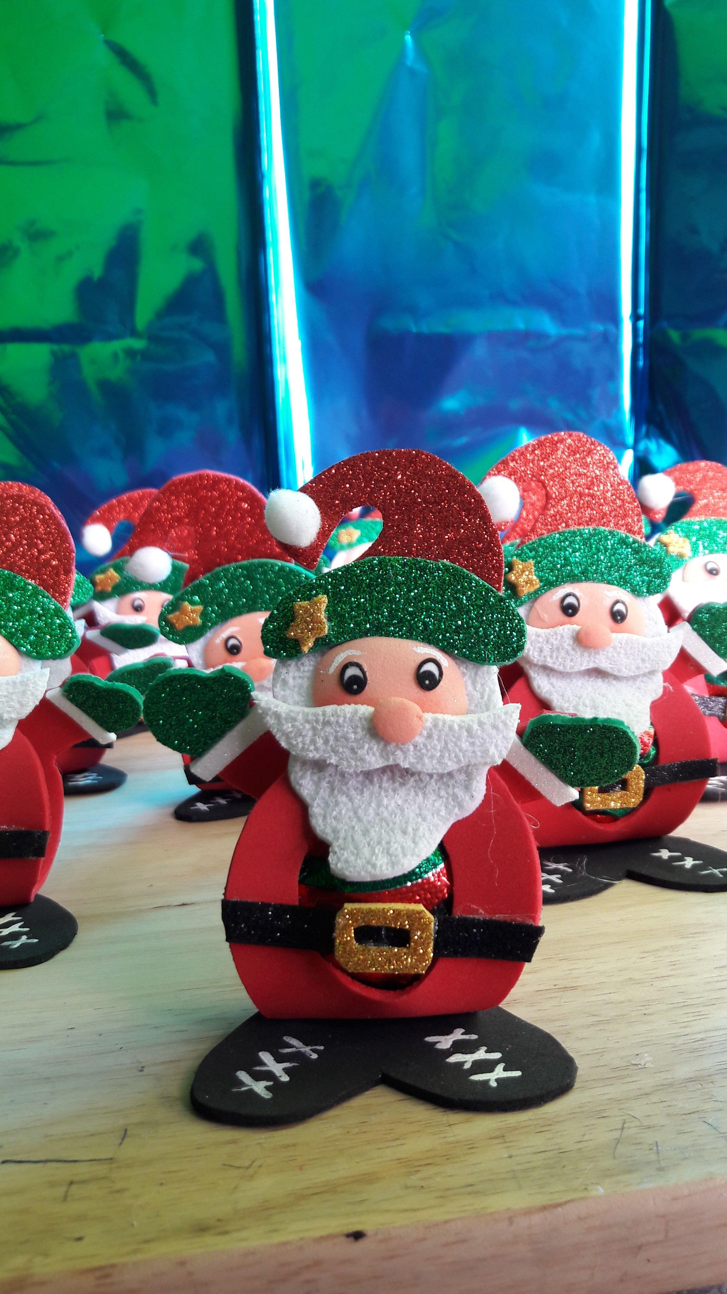 Porta Bombon Navideno Christmas Ornaments Christmas Novelty Christmas