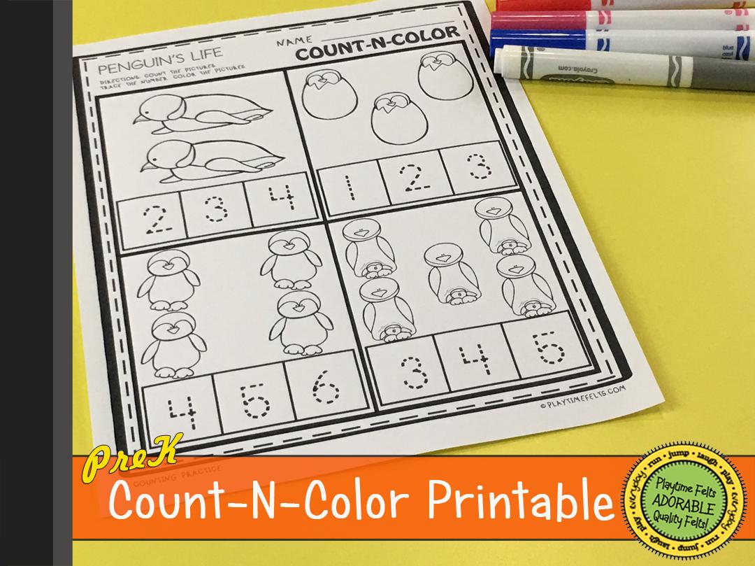 34 Penguin Printable Activities For Preschoolers And