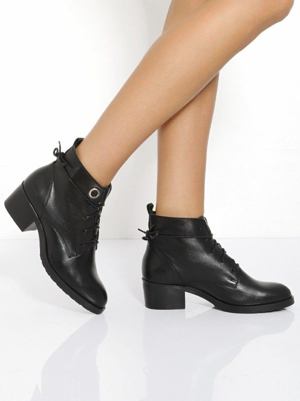 Trzewiki Damskie Ankle Boot Shoes Boots