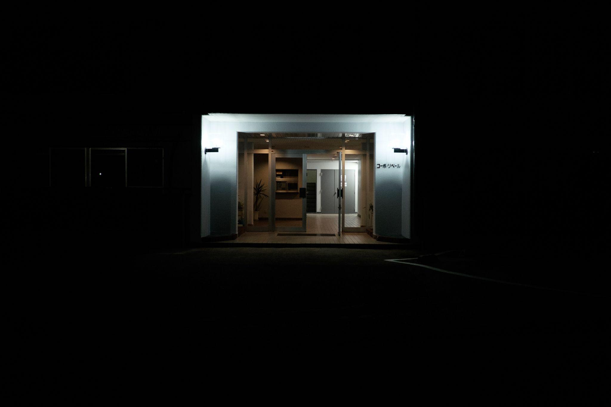 Silent Night series of the streets of Tokyo   Abduzeedo Design Inspiration