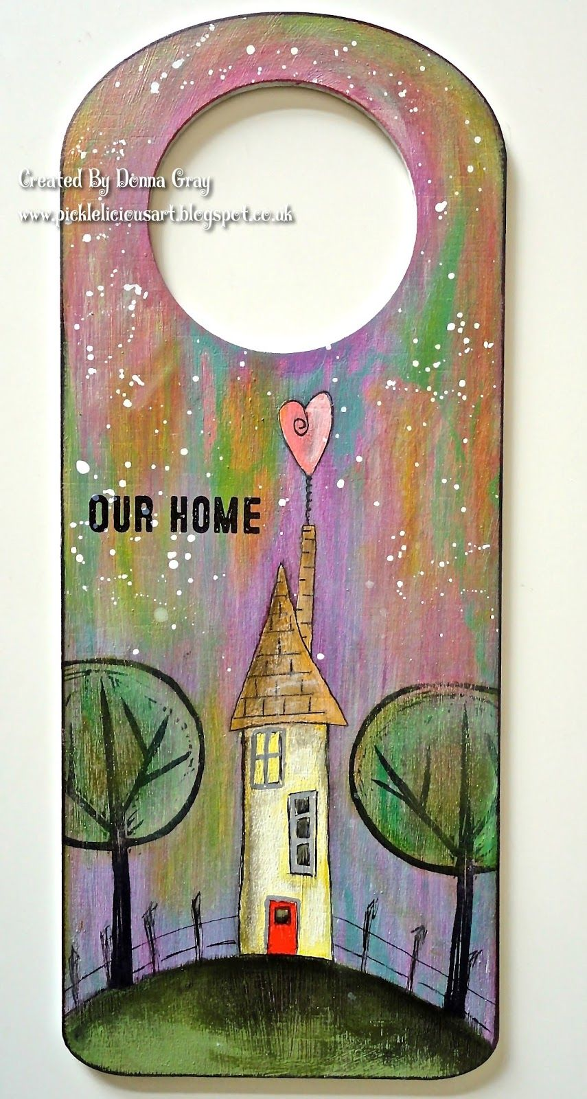 Our Home by Donna Gray | That's Blogging Crafty!