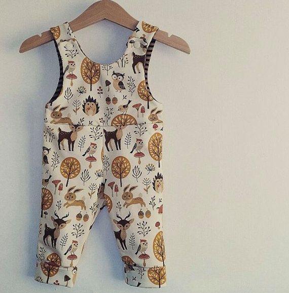 4ac8ddbc5ba Baby Woodland Animal print Romper