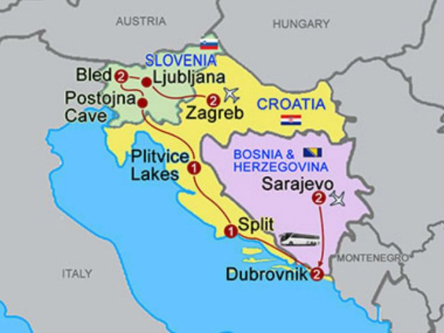 Bosnia Croatia And Slovenia Tour Croatia Travel Agency Croatia Travel Croatia Travel Agency