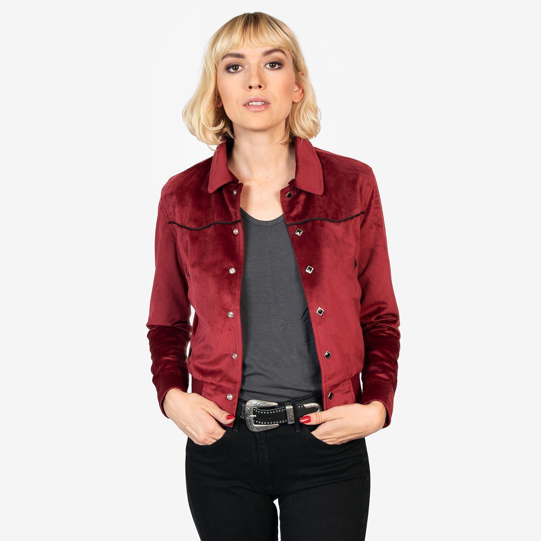 Jackson Burgundy Red Jacket Jackets, Lightweight