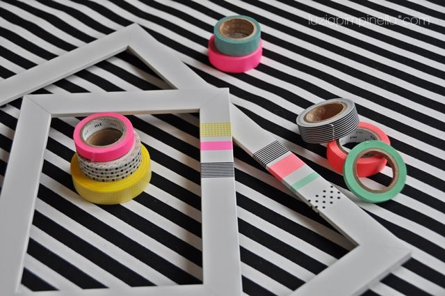 House decorating with washi tape decora tu casa deco for Decora tu mansion