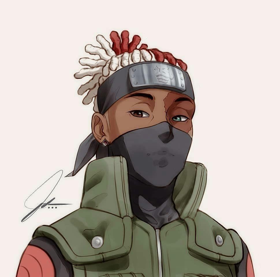 anime character drawing naruto characters cartoon instagram dope avatar guy dark skin guys boondocks vibes custom manga fanart hop hip
