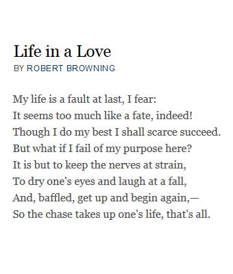 elizabeth barrett browning poems