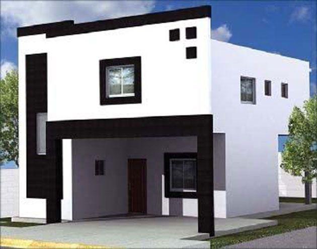 45 fotos y colores para pintar casa por fuera fachadas - Colores para pintar una casa por fuera ...