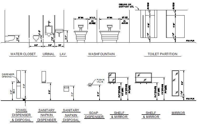 Bathroom Accessories Heights Ada Bathroom Bathroom Accessories