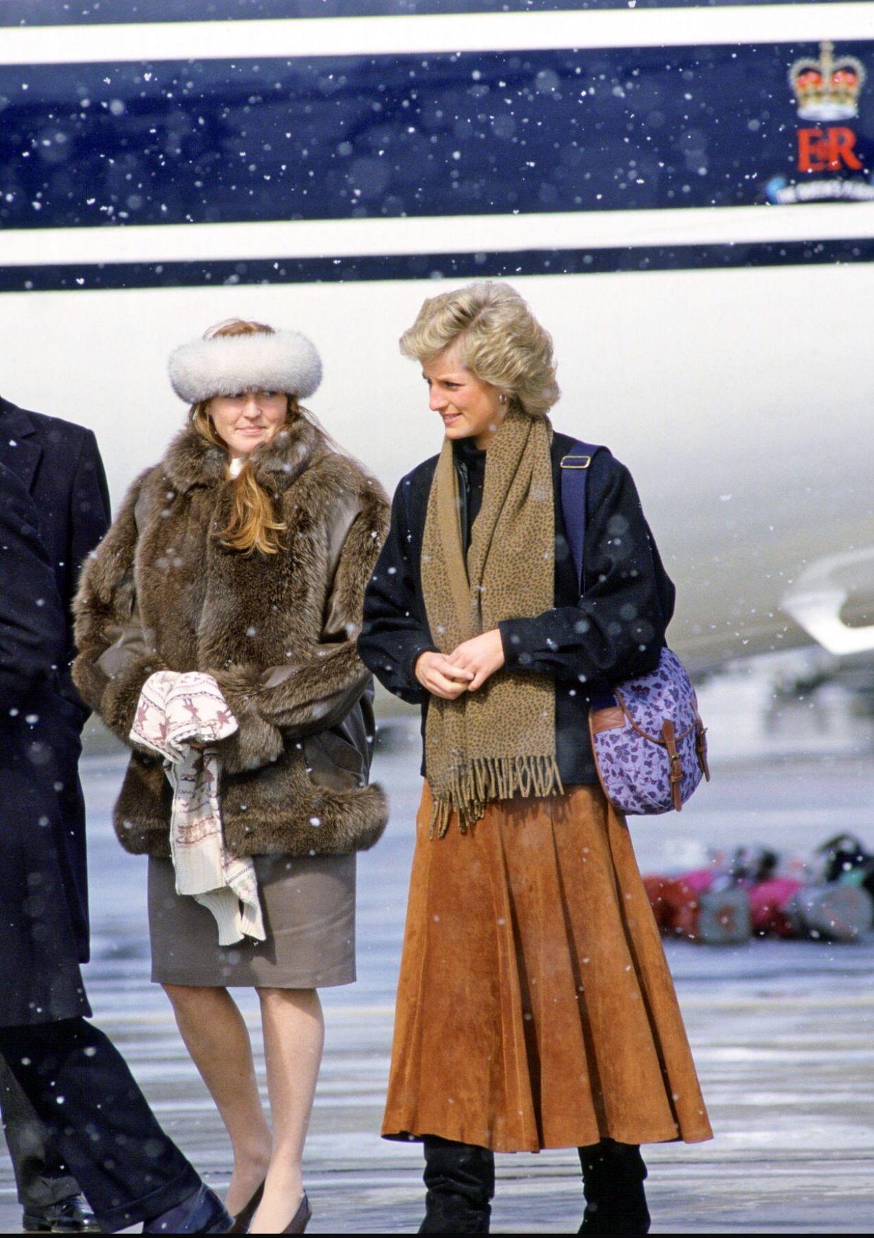 Sarah e Diana a Zurigo nel 1988 Lady, Principessa diana