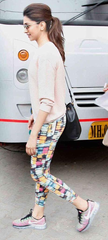 Deepika Padukone | Deepika padukone style, Gym clothes ...