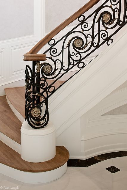 ironwork...... #staircaserailings