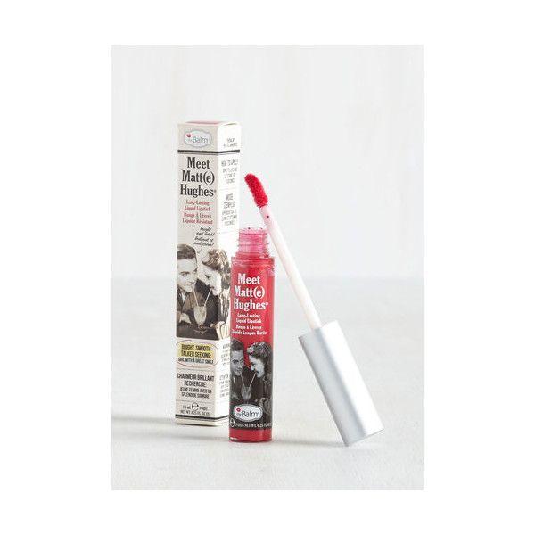 Thebalm In No Time Matte Liquid Lipstick Liquid Lipstick Lipstick Vintage Cosmetics