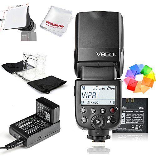 Godox Ving V850II GN60 24G 1/8000s HSS Camera Flash Speedlight with
