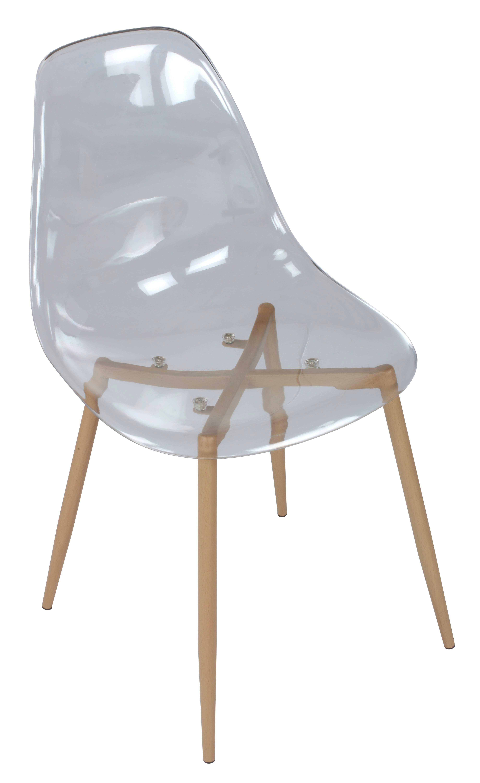 Chaise Lynette Transparente Chaise Transparente Meridienne Mobilier De Salon