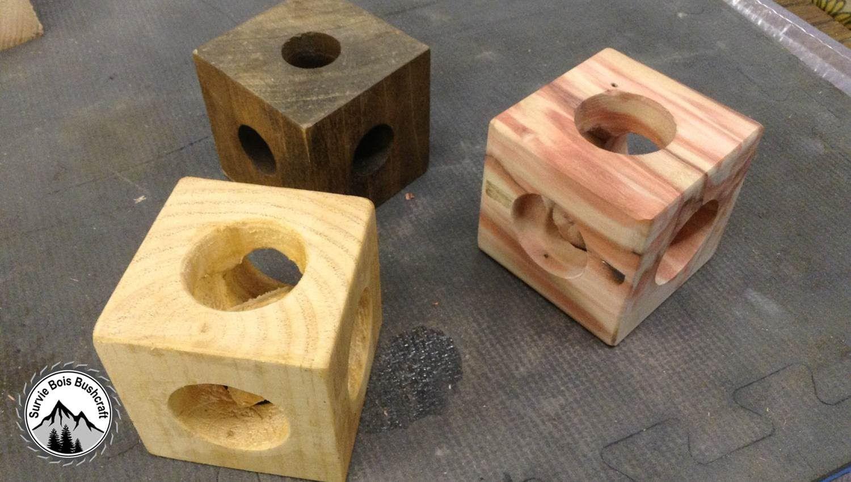 Projet en bois mysterieux! Comment construire un cube dans un cube ? DIY