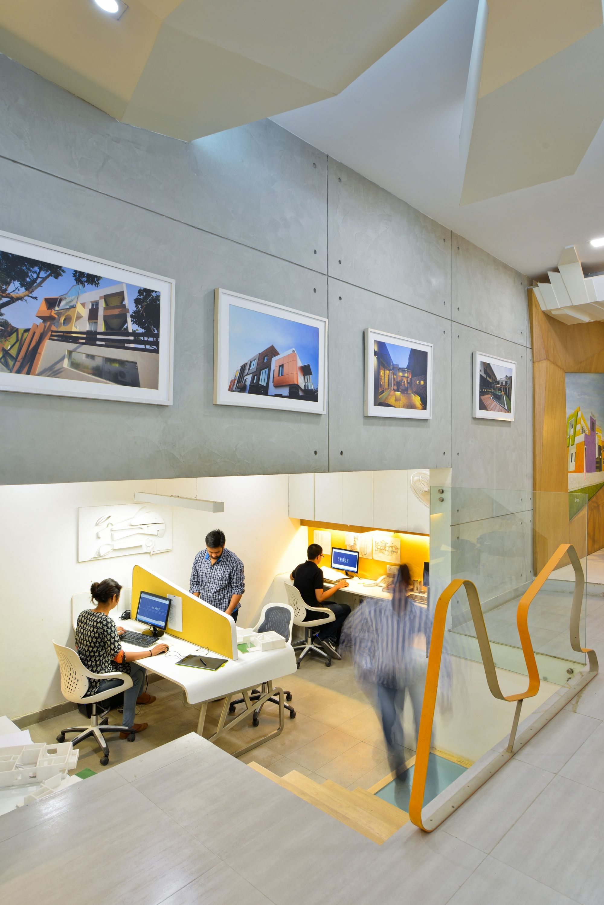open office architecture images space. Architect\u0027s Office: Spaces Architects Convert A Basement Space In New Dehli Into One Of Kind Office - Archute Open Architecture Images G