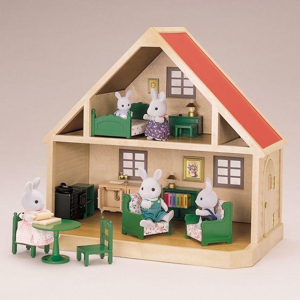 Sylvanian Family Favorite Toy As A Kid Maison De Poupee Familles Sylvanian Maison