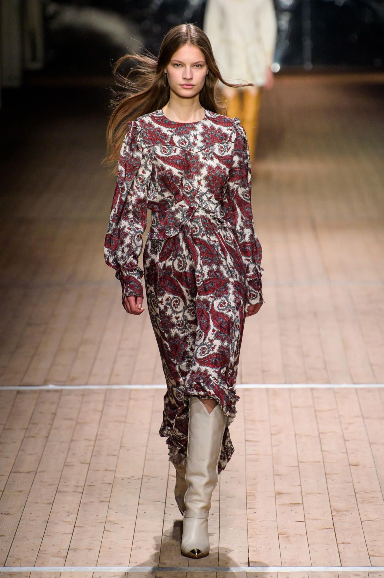 Isabel Marant Takes The French Girl Out West For Fall  Pinterest Isabel Marant French Girls And Girls