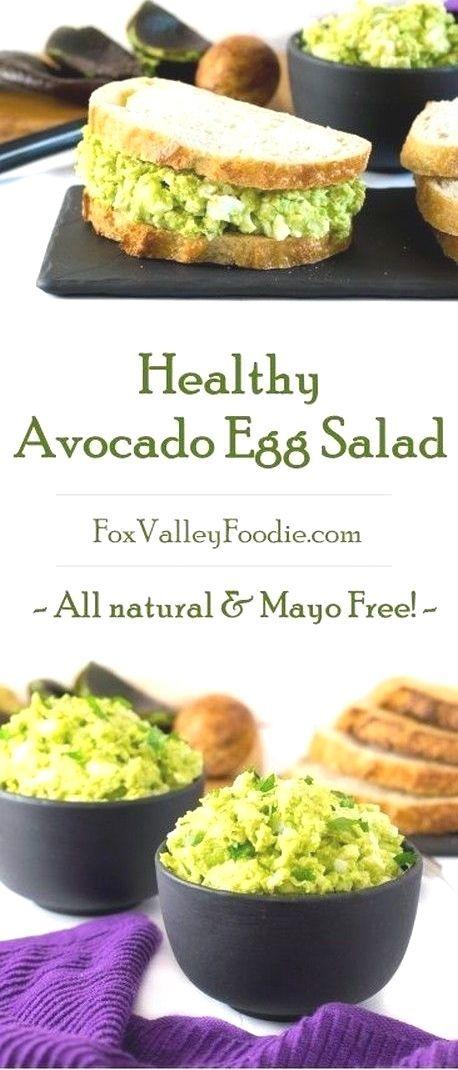 Healthy Avocado Egg Salad   Avocado Recipes,
