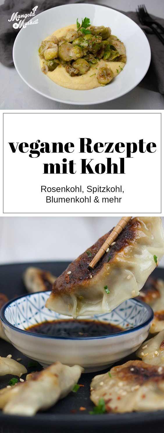 Vegane Rezeptideen mit Kohl #recettehiver