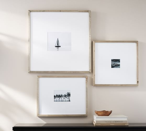 Wood Gallery Oversized Mat Frames | Woods, Gallery wall and Nest