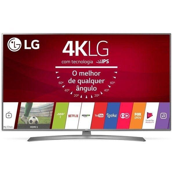 c1f4e5a66c3 Smart TV LED 75 ´ LG 75UJ6585 Ultra HD com Conversor Digital Wi - Fi  integrado 2 USB 4 HDMI webOS 3.5 Sistema de Som Ultra Surround