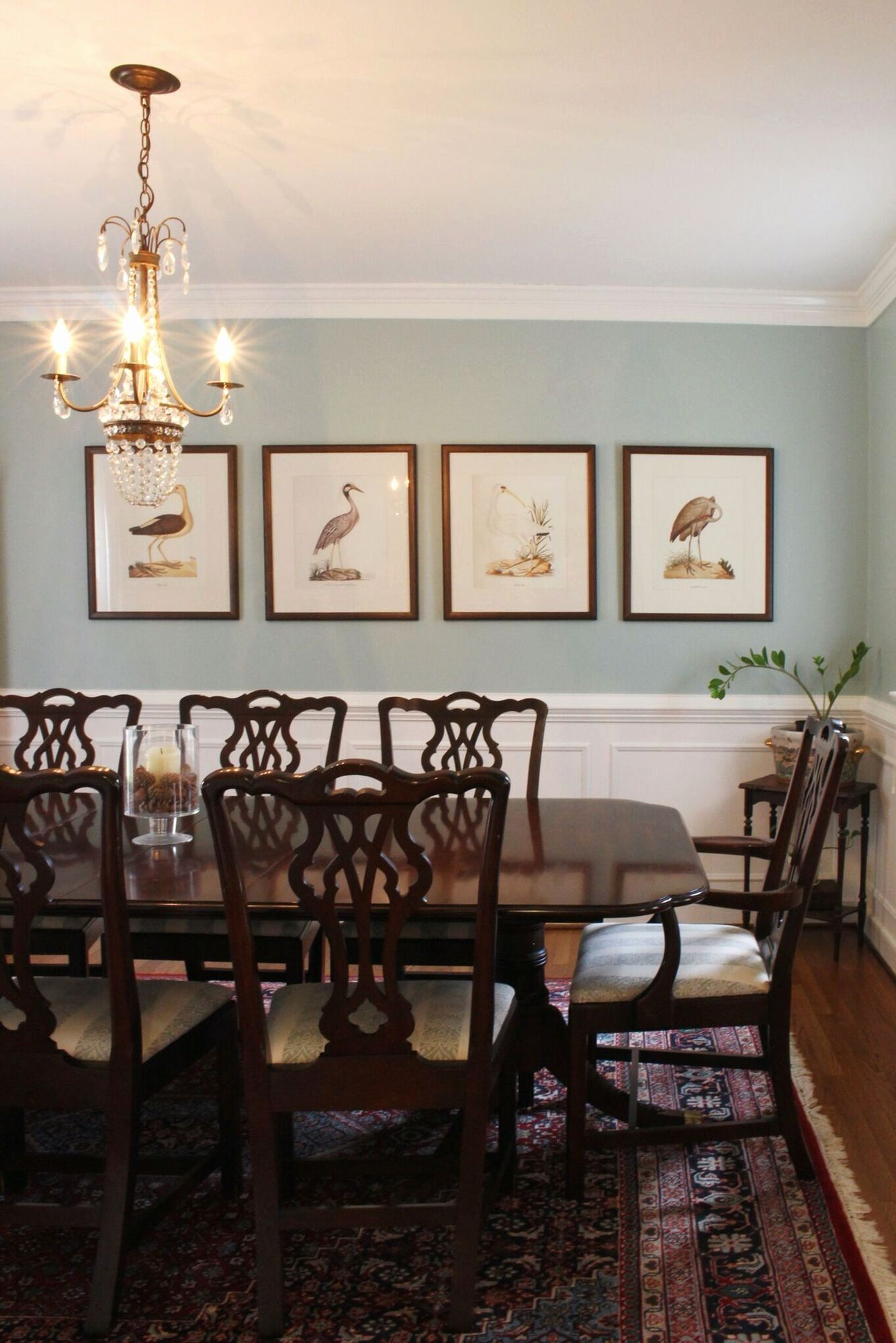 Blue Dining Room Paint Colors Awesome Ben Moore Catalina ...
