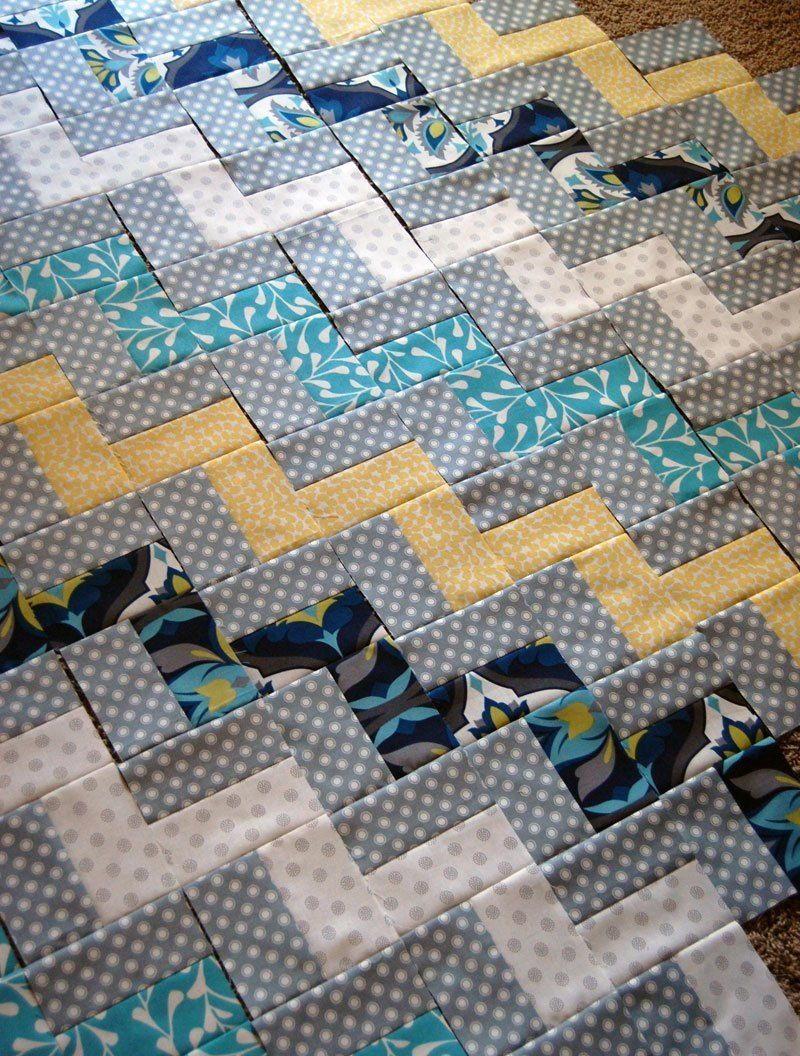 Make This Zig Zag Chevron Quilt Chevron Quilt Pattern Chevron