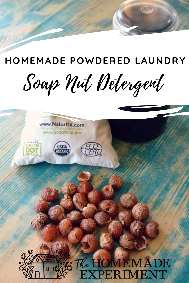 How To Make Use Homemade Powder Soap Nuts Laundry Detergent
