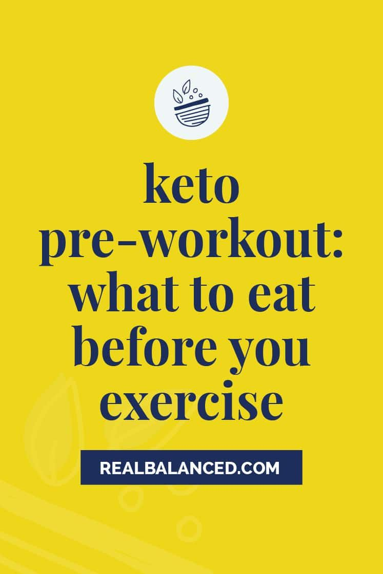 Keto Pre Workout What To Eat Before You Exercise Pre Workout Food Preworkout Keto