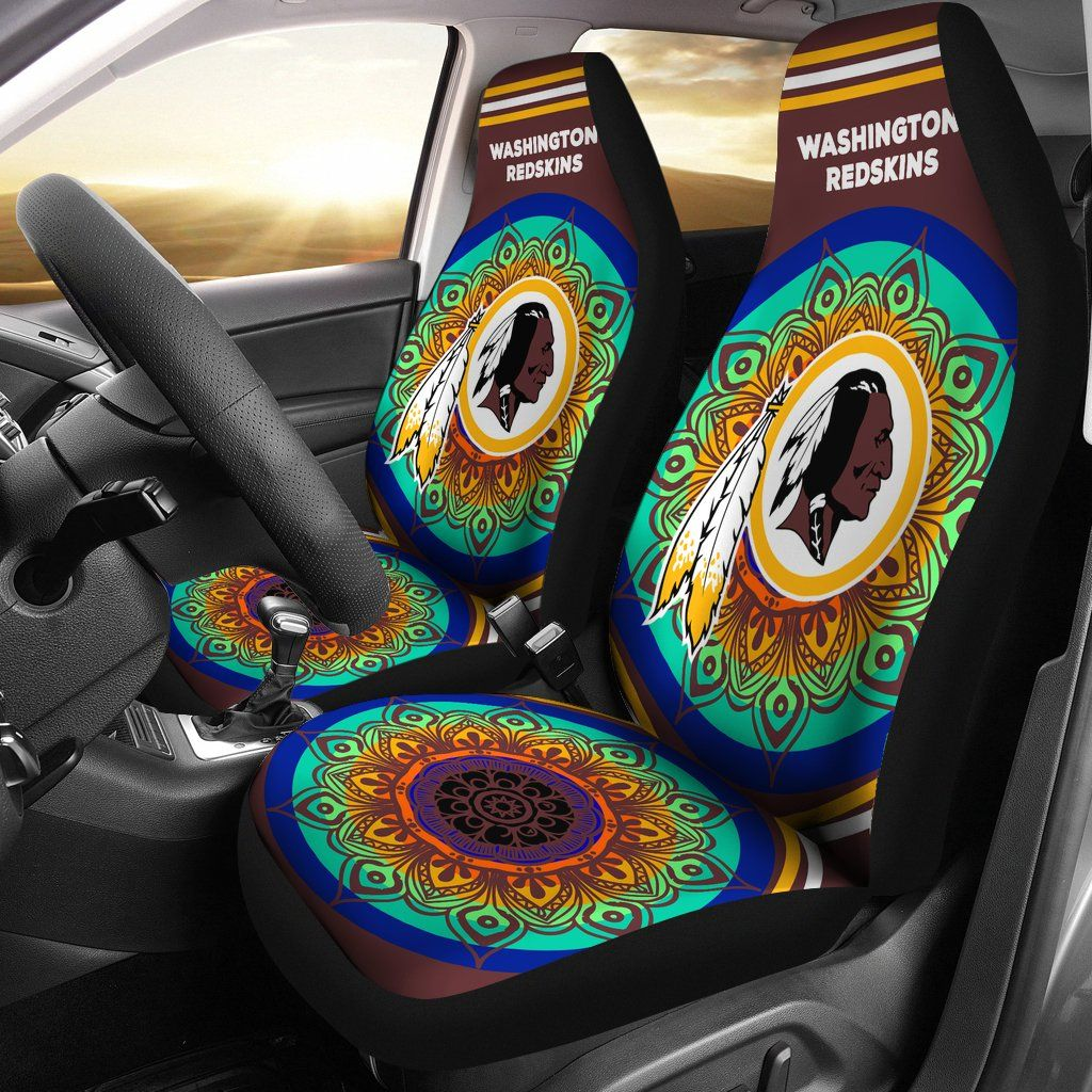 Incredible Magical And Vibrant Washington Redskins Car Seat Covers Squirreltailoven Fun Painted Chair Ideas Images Squirreltailovenorg