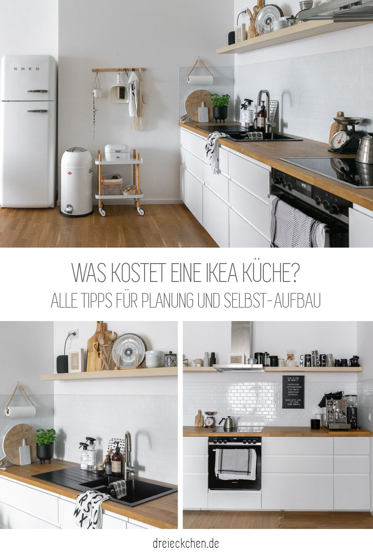 Was kostet eine IKEA Küche? in 15  Ikea küche, Wohnung küche