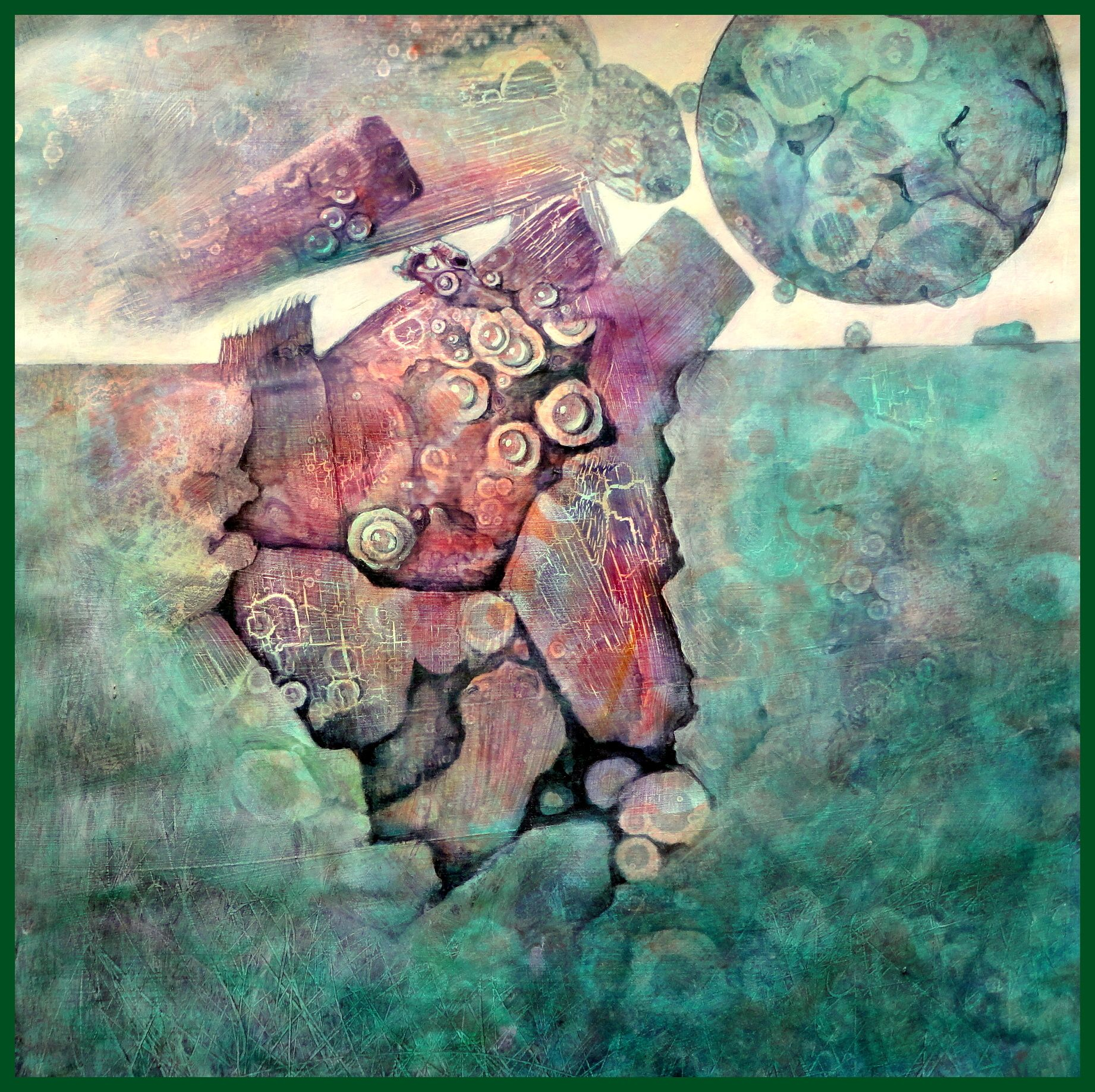 Acryl auf Papier Gerda Lipski www.gerdalipski.com YouTube channel ...
