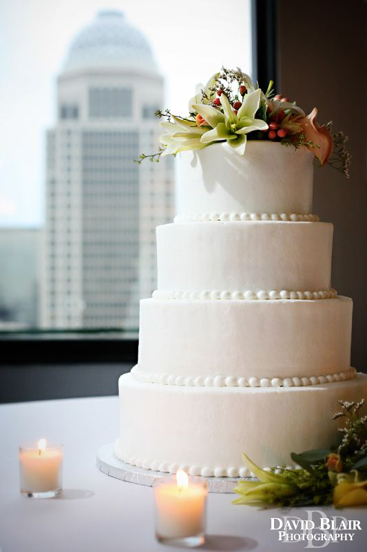 Wedding Cake Photo Taken Atop The Galt House Hotel In Downtown Louisville Kentucky By David Blair