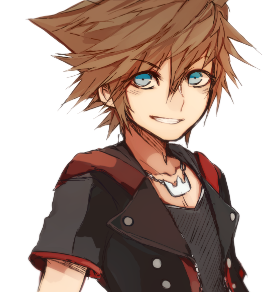Sora Kingdom Hearts Kingdom Hearts: Sora's New Hairstyle On Kingdom Hearts 3